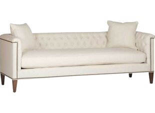 Thatcher Tufted Back Chesterfield Sofa by Gabby Savings
