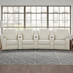 Alliser Home Theater Sectional By Wayfair Custom Upholstery™