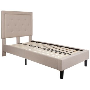 Porcaro Tufted Upholstered Platform Bed by Charlton Home