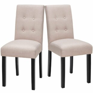 Lipscomb Upholstered Dining Chair (Set of 2)