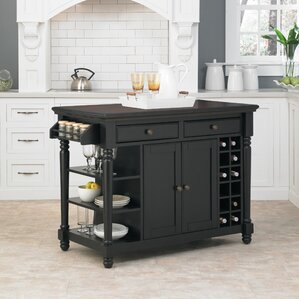 Cleanhill Kitchen Island by Darby Home Co