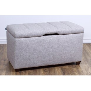 Trinidad Bedroom Upholstered Storage Bench by Ebern Designs