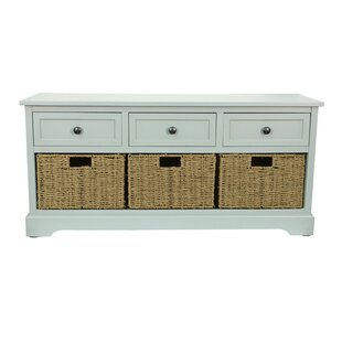 Ardina Wood Storage Bench by Beachcrest Home