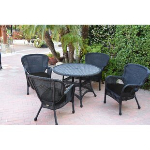 Damarion 5 Piece Dining Set with Cushions..