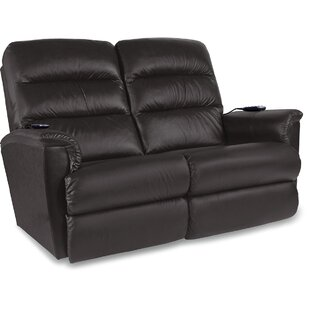 Tripoli Leather Reclining Loveseat