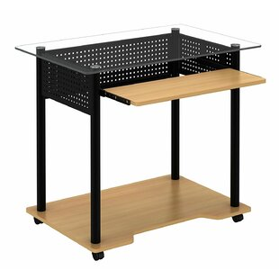 Best Leahy Rolling Computer Desk By Symple Stuff