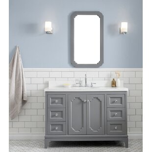 Comparison Kylan 48 Single Bathroom Vanity Set with Mirror By Alcott Hill