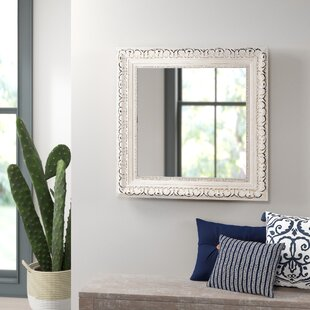 Where buy  Debbie Square French Victorian Wall Mirror By Mistana