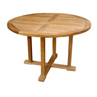 Yarger Teak Dining Table by Rosecliff Heights