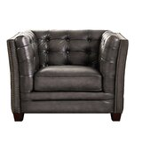 Bonita 100% Leather Chair by Coja