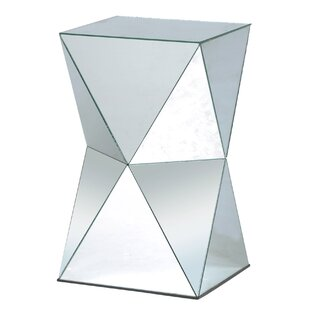 Leib Crafted Mirror End Table