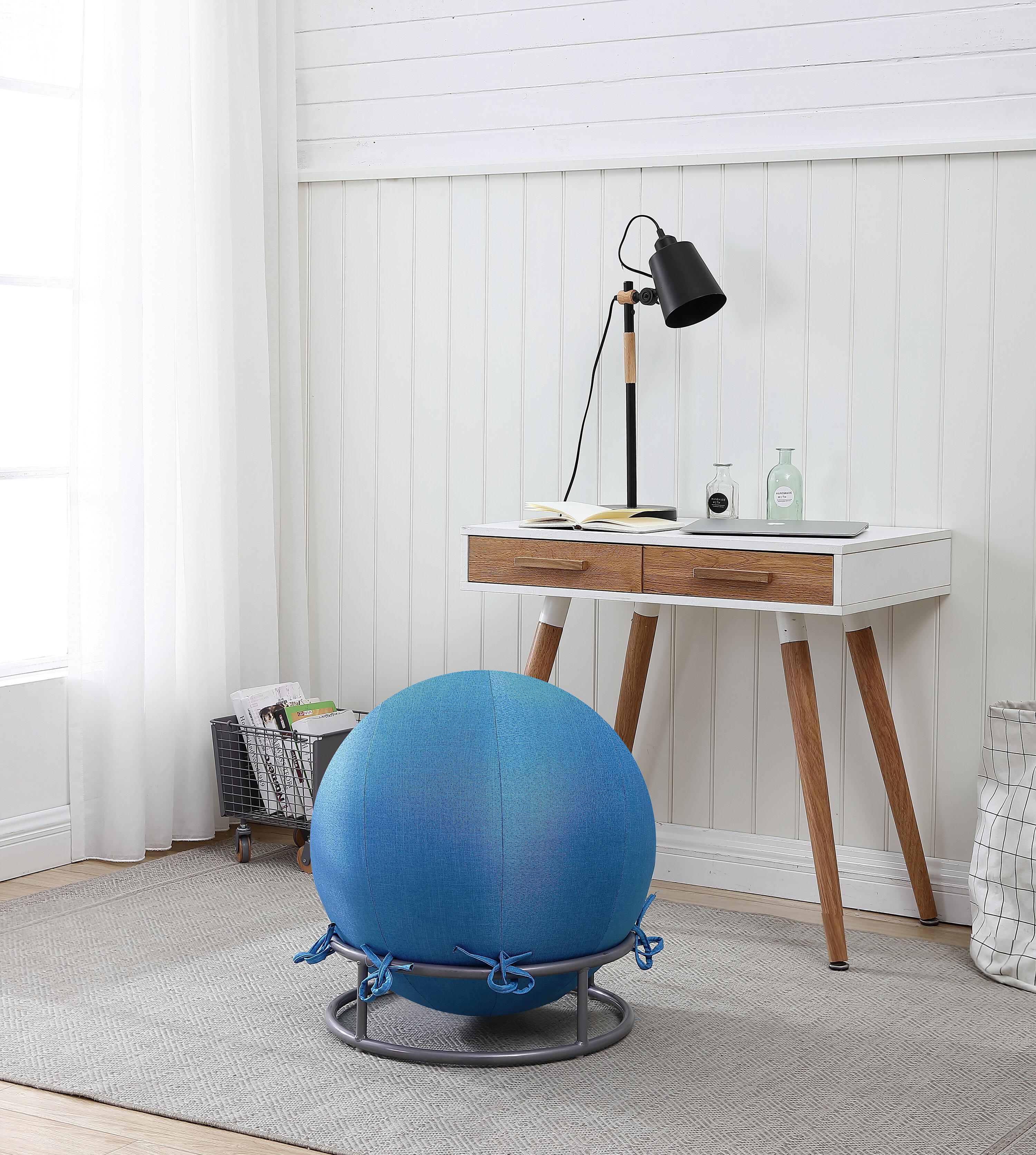 Symple Stuff Vickrey Yoga Ball Chair