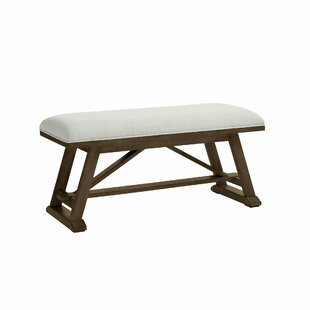 Chelsea Square Upholstered Bench by Stone..