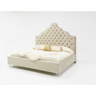 Guerra Fabric Upholstered Bed by Rosdorf Park Read Reviews