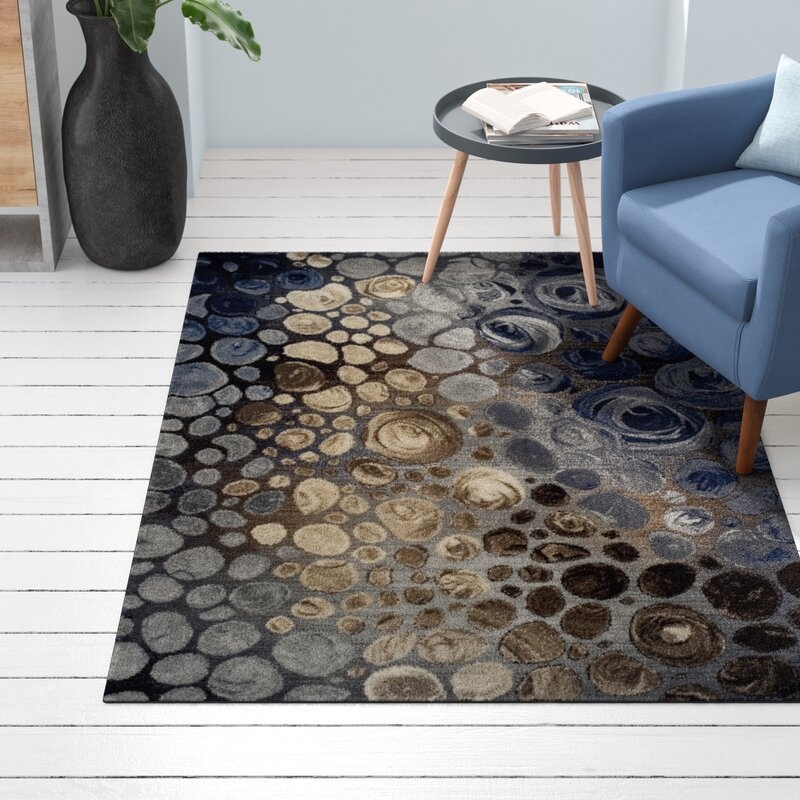 Wandfarbe Grau Blau Kombinieren 5: Longweave Teppich Arthers In Grau/Blau/Braun & Bewertungen