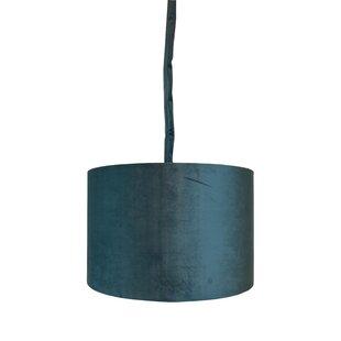 World Menagerie Detrick 1-Light Drum Pendant