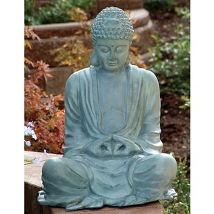 Beau Large Garden Buddha Statue