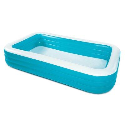 Summer Waves 10Ft X 6Ft X 22In Deluxe Inflatable Backyard Kiddie Splash Pool Polygroup Trading Ltd -  KB0530000