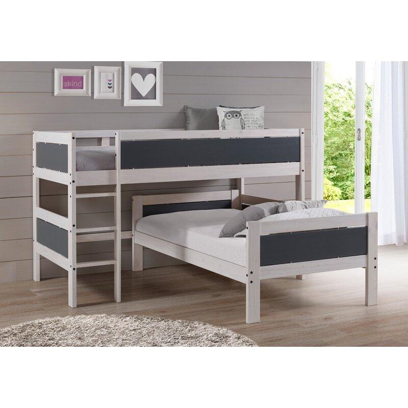 Harriet Bee Tecca Twin Over Twin Loft Bed Wayfair