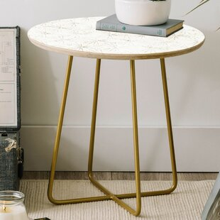 Compare & Buy Holli Zollinger Sunburst Light Round End Table by East Urban Home