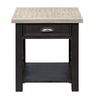 Miriam End Table with Storage by Loon Peak