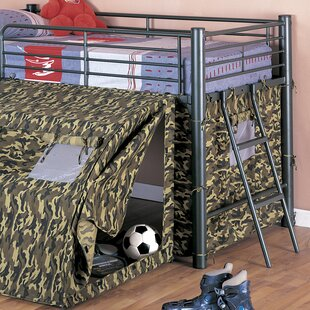 Comparison G.I Twin Low Loft Bed by Wildon Home® Reviews (2019) & Buyer's Guide