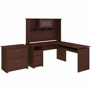 Hillsdale 4 Piece L-Shaped Desk Office Suite