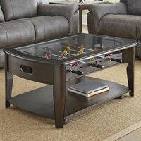 Deals on Red Barrel Studio Weist 45-inch Wood Foosball Table
