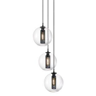 Marjorie 3-Light Pendant b..