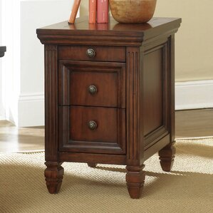 Goudreau End Table With Storage by Darby Home Co