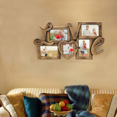 Red Barrel Studio Amina 5 Openings Vintage Wall Hanging Picture ...