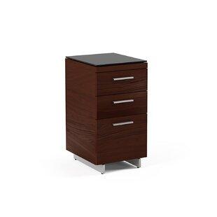 "BDI Sequel 15"" 3-Drawer Filing Cabinet"