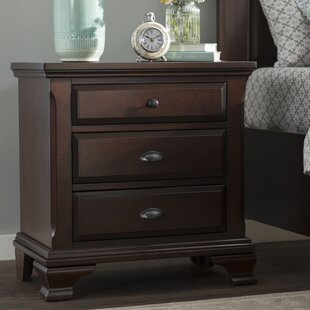 Plattsburgh 3 Drawer Nightstand