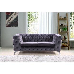 Weiss Chesterfield Loveseat