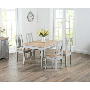 Miller Dining Set With 4 Chairs By Home Etc