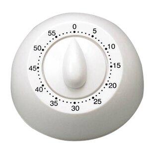 Long Ring Mechanical Timer in White