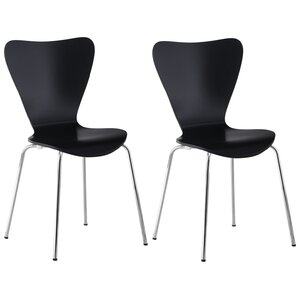 Prompton Indoor/Outdoor Side Chair (Set of 4) by Wade Logan