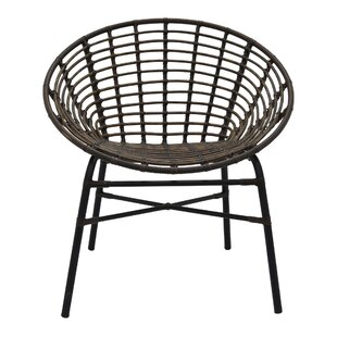 Bianco Metal Barrel Chair