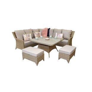 Saskia 9 Seater Dining Set With Cushions By Hokku Designs