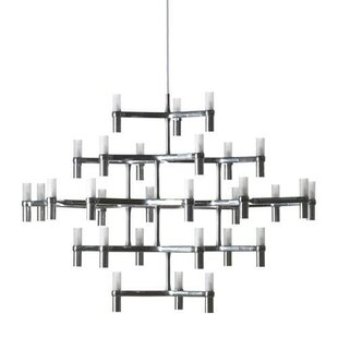 Orren Ellis Bouknight 30-Light Sputnik Chandelier