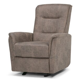Simpli Home Percy Manual Glider Recliner