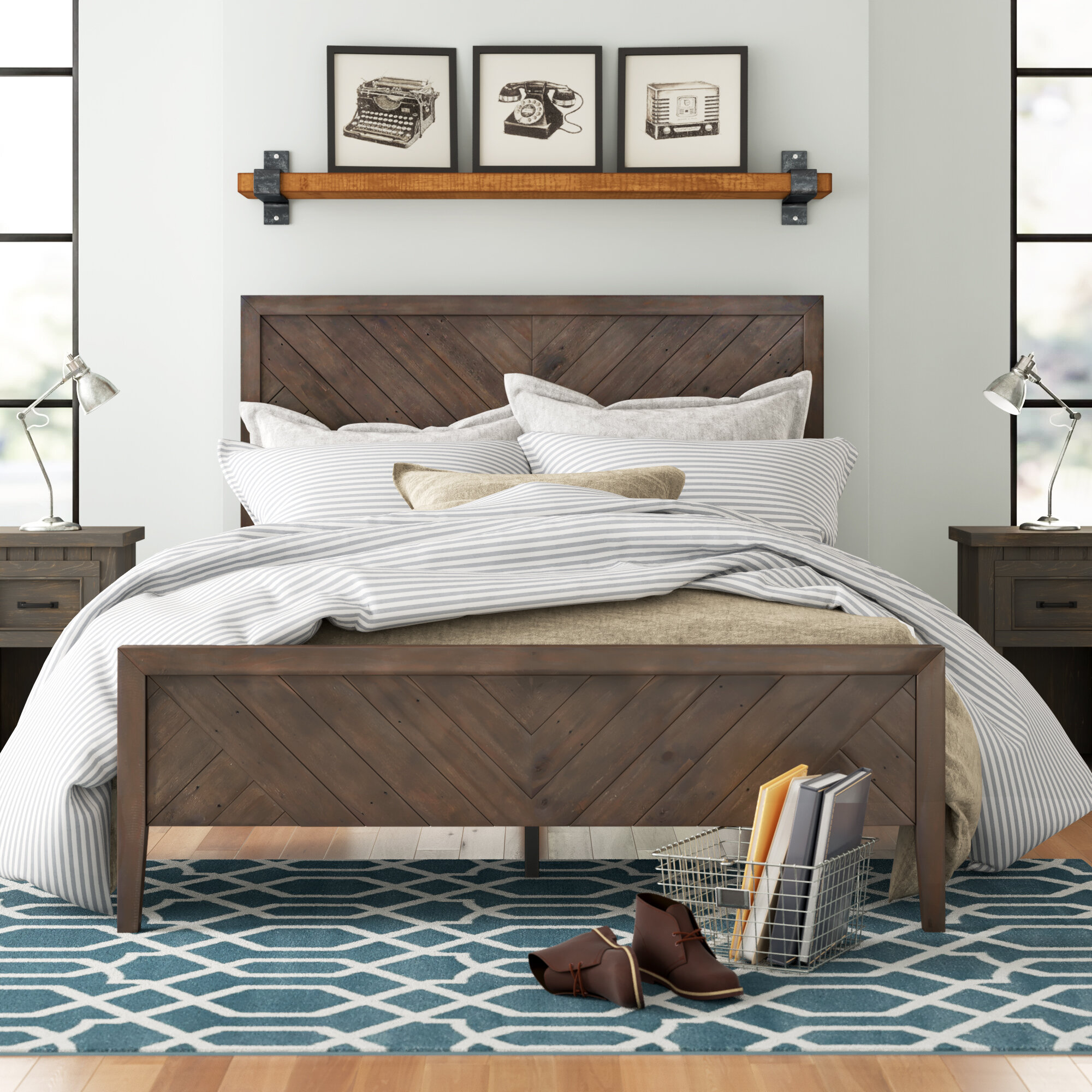Cottage Country Beds You Ll Love In 2021 Wayfair
