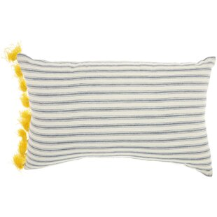 Zenon Cotton Throw Pillow by Beachcrest Home 2019 Online