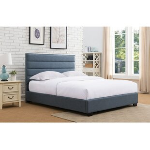 Penwell Upholstered Platform Bed by Latitude Run Spacial Price