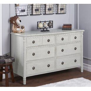 Evolur Julienne 6 Drawers Standard Dresser