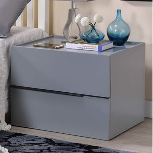 Reviews Valley Forge 2 Drawer Nightstand by Orren Ellis