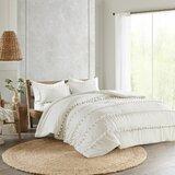 Obrian Pom Pom Comforter Set