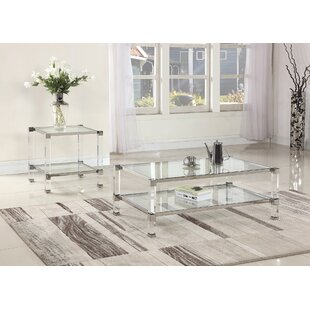 Orren Ellis Mcauley 2 Piece Coffee Table Set