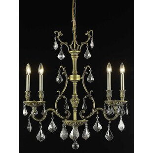 Astoria Grand Almont 4-Light Candle-Style Chandelier