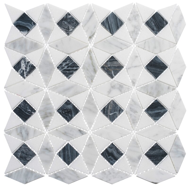 Andova Cimarron Harbor Luxury Natural Stone Novelty Mosaic Tile Wayfair